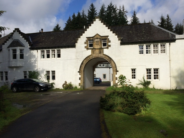 The Arch House, Dunira Estate, Perthshire. Photo Susan Tichy, 2014.